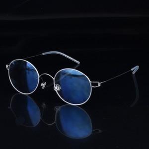 Image 4 - Hand made Titanium Vintage Optical Prescription Round Glasses Frame Lightweight Korean Style Retro Oculos de Grau for Men Women