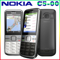 Nokia c5-00 c5 abierto original del teléfono celular gsm 3g 3.15mp cámara fm gps bluetooth envío gratis