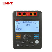 цена на UNI-T UT512 Digital Insulation Resistance Tester Meter Megohmmeter Low Ohm Ohmmeter Voltmeter Auto Range 2500v Usb Interface ohm