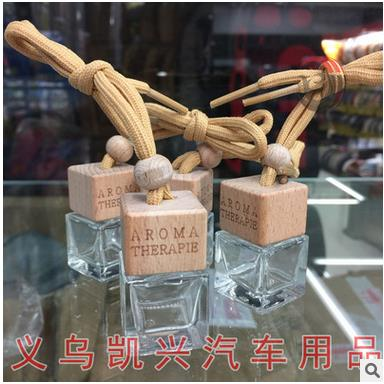 10pcs/lot Square glass bottle hanging car perfume glass bottle parfum perfumes maquiagem jar pendant 6ml empty bottles 100 pcs lot of small glass vials with cork tops 1 ml tiny bottles little empty jars
