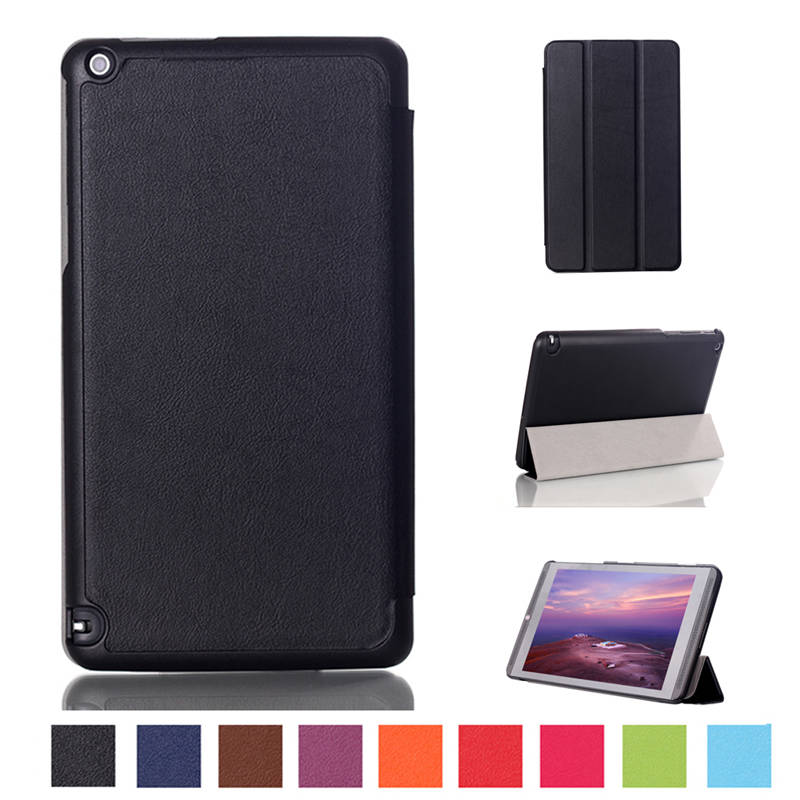 Magnet PU Leather Cover Stand Case for NVIDIA Shield tablet K1/Shield Tablet 8 Tablet image