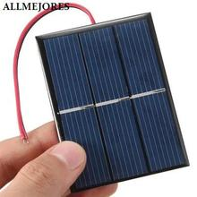 Solar panel 1 5V 0 65W Polycrystalline Solar cell panel for DIY Charger Solar toy ect