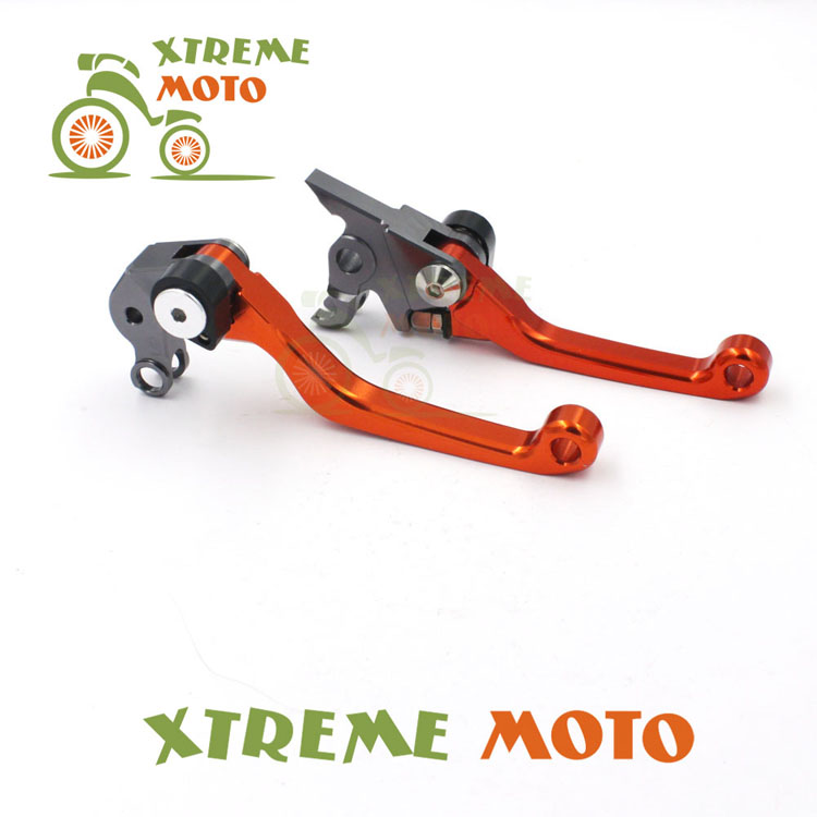 CNC Billet Pivot Foldable Brake Clutch Levers For KTM 125 SX EXC(SIX DAYS) 144SX 200 XCW EXC 250 SX SXF 400 EXCR XCW 450 SX cnc stunt clutch lever easy pull cable system for ktm exc excf xc xcf xcw xcfw mx egs sx sxf sxs smr 50 65 85 125 150 200 250