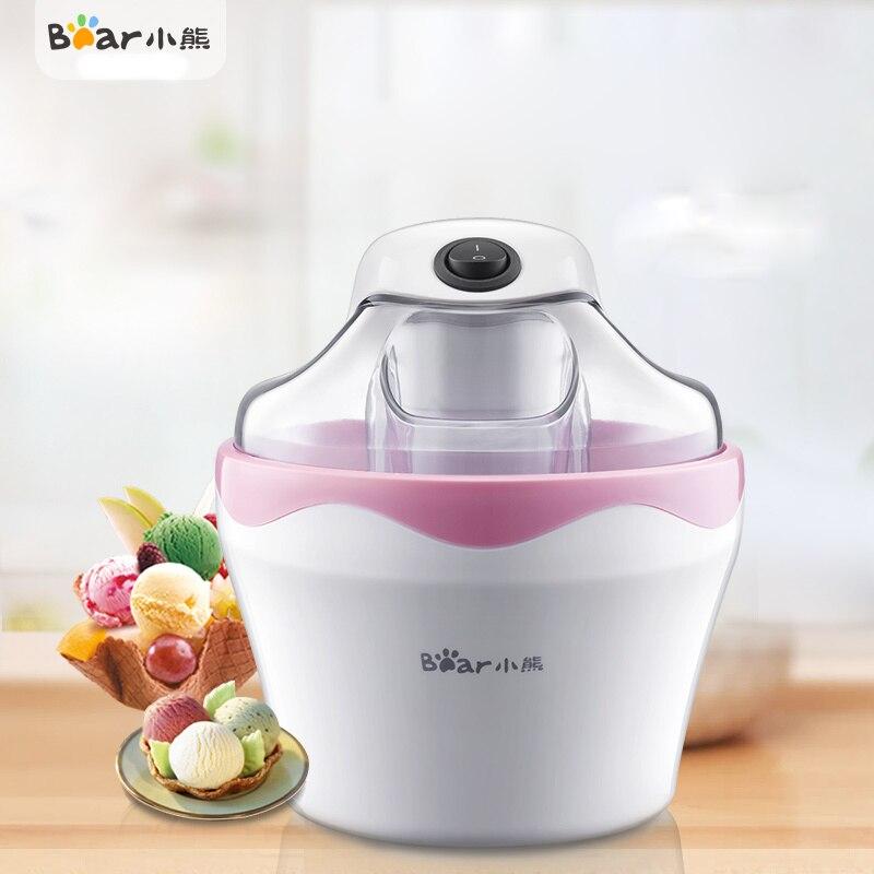 Bear BQL-A05T1 Ice Cream Machine Automatic Home Diy A Key To Get бутылка 0 4 л asobu ice t 2 go фиолетовая it2go violet