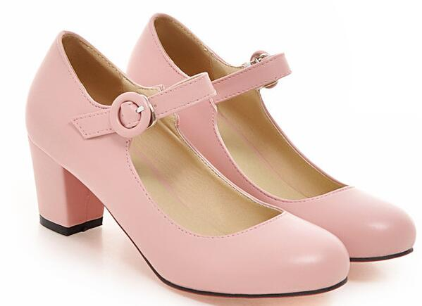 Popular Pink Mid Heel Pumps-Buy Cheap Pink Mid Heel Pumps lots