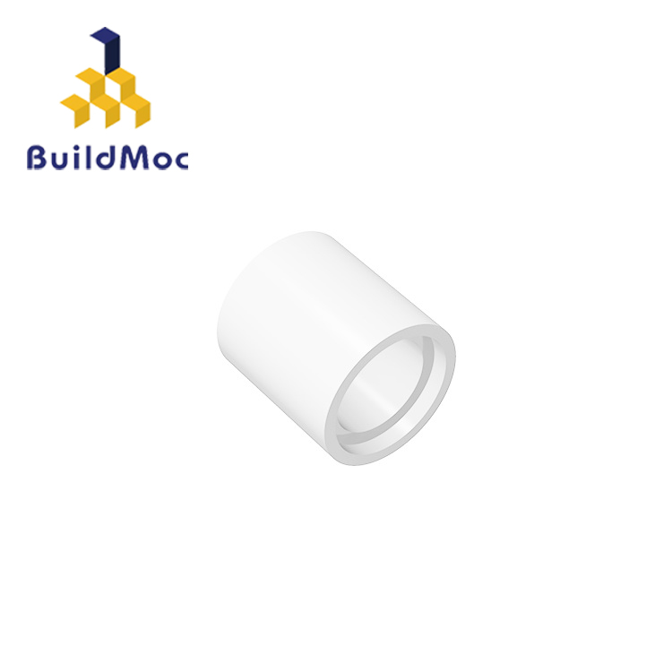 BuildMOC Compatible Assembles Particles 18654 1x1 For Building Blocks Parts DIY LOGO Educational Tech Parts Toys
