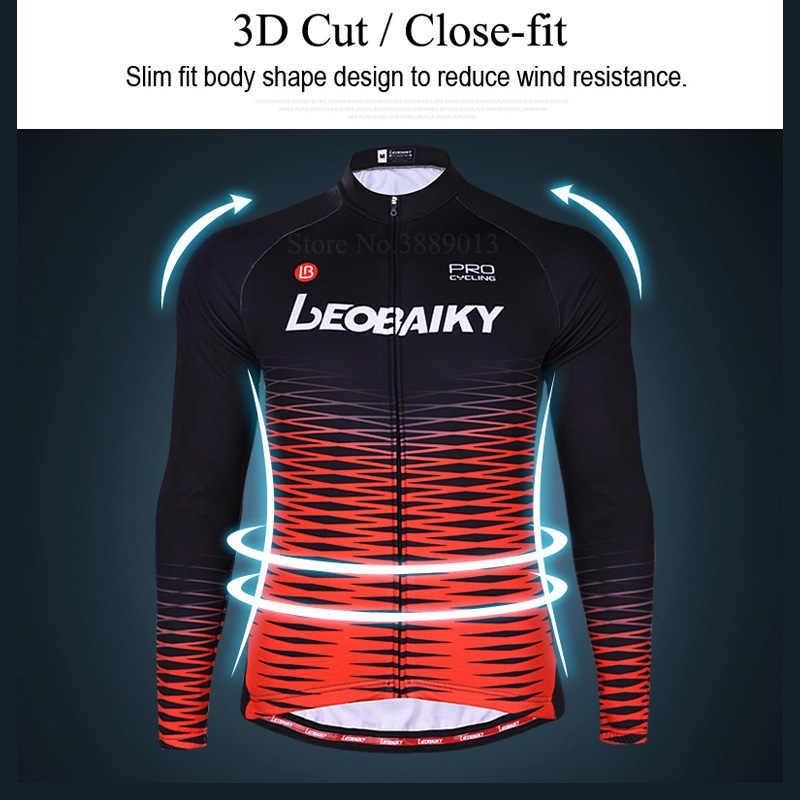 Zestaw koszulek rowerowych mężczyźni lato Pro Team 2020 odzież rowerowa górska Mtb nosić ubrania do jazdy rowerem szybkie suche zestawy rowerowe z długim rękawem