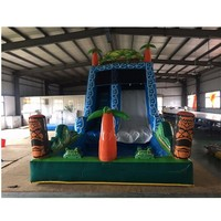 Good Quality Large Inflatable Slide Commercial Pool Slide for kids and adults