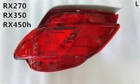 eOsuns rear bumper light rear fog lamp for Lexus RX270 RX350 RX450h 2009 2015