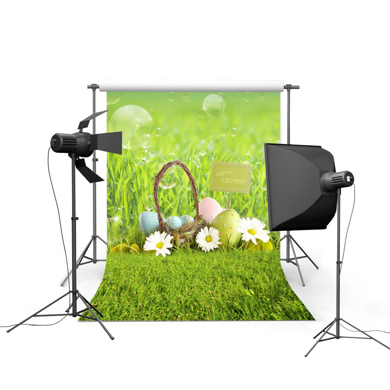 NeoBack spring easter photography backdrops eggs chiken new born baby children photographic background Easter Day P0358