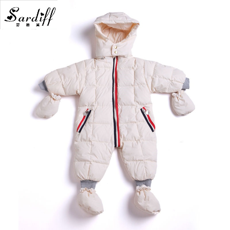 2017 Jumpsuit Children's Clothing Baby Coats Jackets Boys Duck Snowsuit Girls Newborn Snow Suits Infant Wear For Easter Clothes puseky 2017 infant romper baby boys girls jumpsuit newborn bebe clothing hooded toddler baby clothes cute panda romper costumes