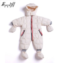 2017 Jumpsuit Children's Clothing Baby Coats Jackets Boys Duck Snowsuit Girls Newborn Snow Suits Infant Wear For Easter Clothes