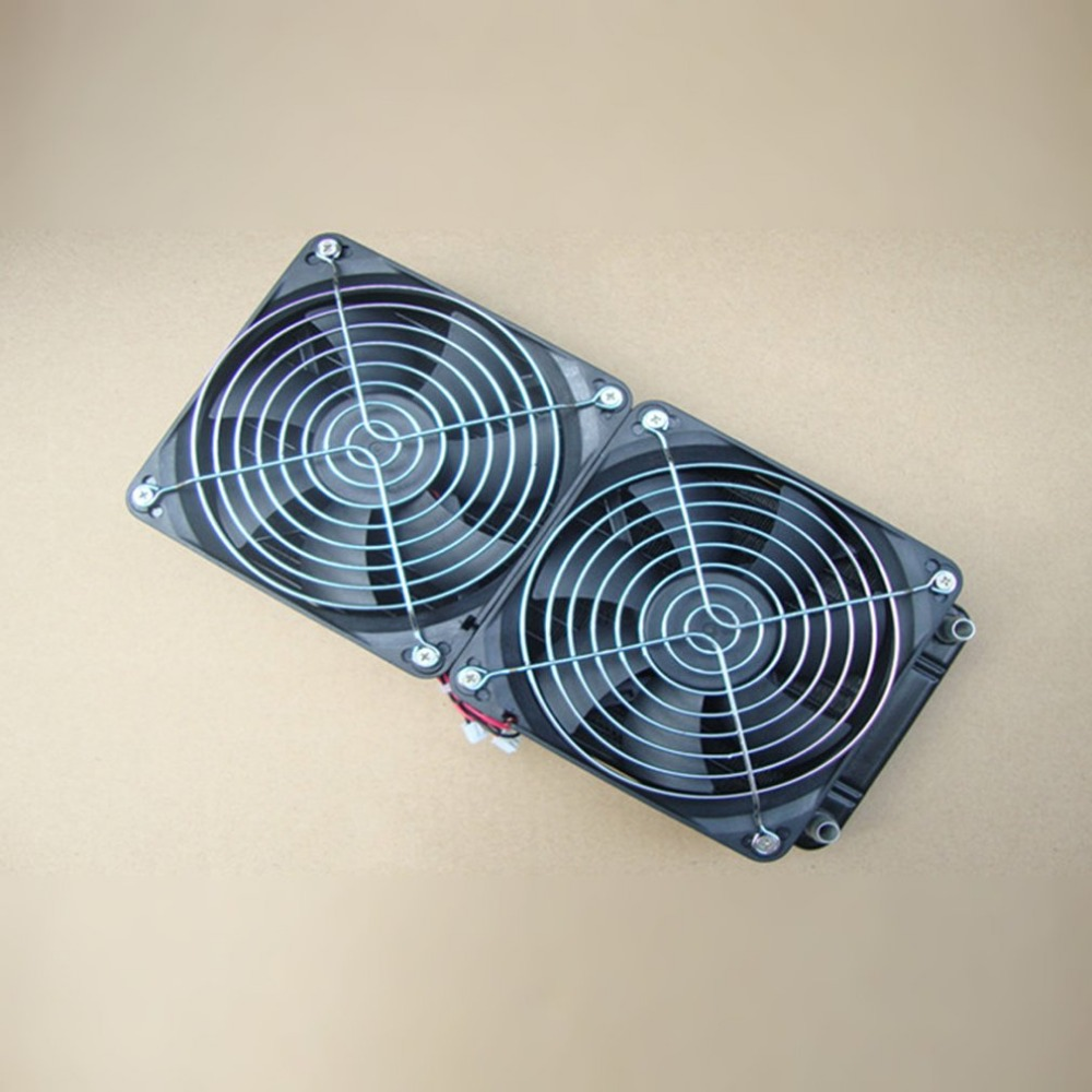 Hot Aluminum 240mm Water Cooling cooled Row Heat Exchanger Radiator Fan for CPU PC блузки smil блузка