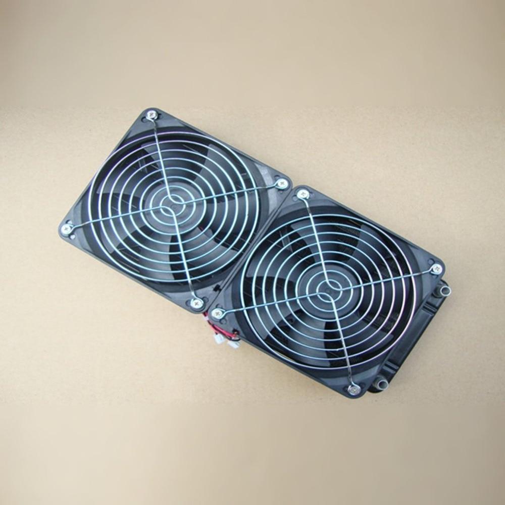 Hot Aluminum 240mm Water Cooling cooled Row Heat Exchanger Radiator Fan for CPU PC футболка print bar troll