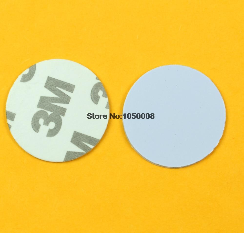 125khz RFID EM4305 3M Adhesive Sticker Coin Card Rewritable Copy Clone Card diameter 25mm copy coin 1 1704 russia
