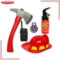 5 pieces of a set Children Fire Fighter Toys Simulation Fire Rescue Toy Set Fireman Helmet Fire Extinguisher Kids Toy