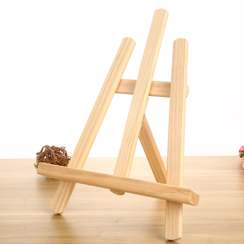 Art Set Mini Artist Wood Painting Easel Frame Tripod Display Shelf Oil Painting Easel Art Supplies цена