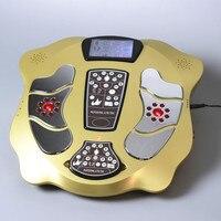 Máquina de reflexología de pies, masajeador eléctrico Ems para pies con Control remoto