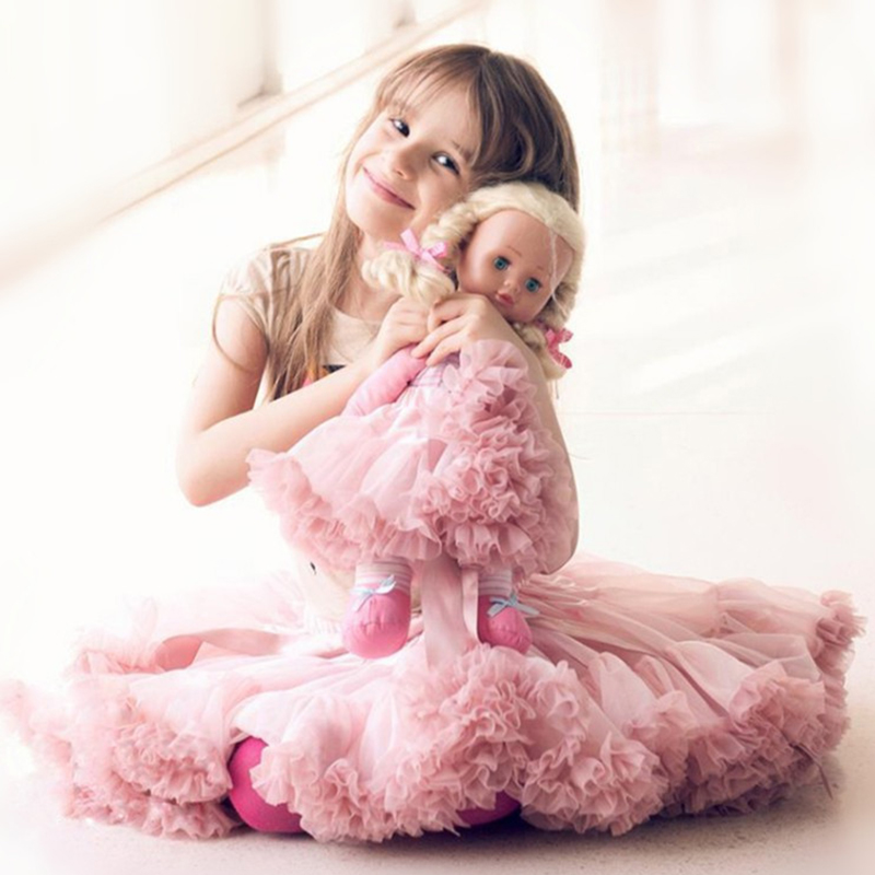 Baby Girls Mesh Tutu Skirts Summer Fashion Children Princess Ballet Dress Clothing Toddler Girl Tutu Dresses For Party Gifts