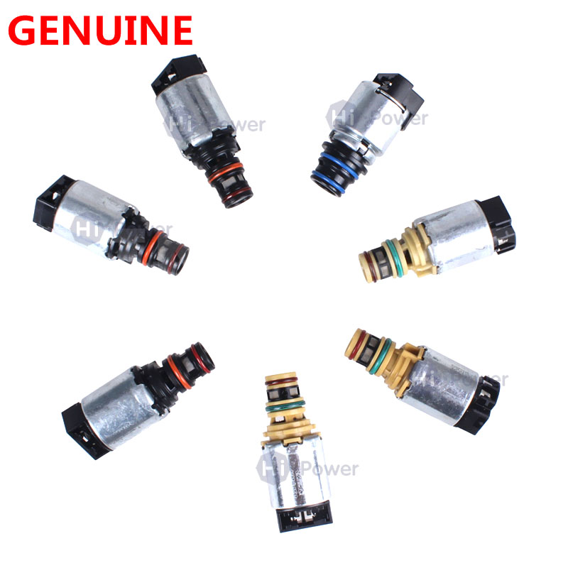 Original 7pcs Lot 6T45E 6T40 Transmission Shift Solenoid for Chevrolet Cruze Epica Lacetti Astra Antara Saab