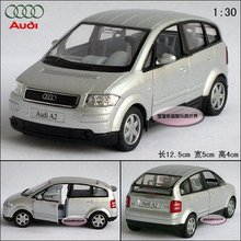 New AUDI A2 1 30 Alloy Diecast Car Model Toy Collection Silver B112a