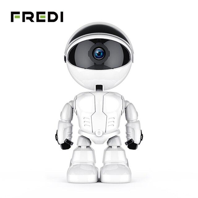 FREDI 1080 P nube Seguridad del hogar cámara IP Robot cámara de seguimiento automático inteligente WiFi cámara CCTV cámara de vigilancia
