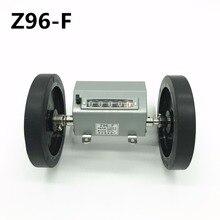 5 หลัก Z96 F Scroll/Rolling ล้อเคาน์เตอร์สิ่งทอเครื่องจักรเมตร นับวัดความยาว