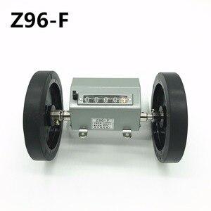 Image 1 - 5 haneli Z96 F kaydırma/haddeleme sayacı tekstil makineleri metre sayma ölçüm uzunluğu