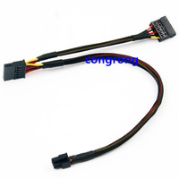 For Dell 3653 3650 3655 Hard Drive Optical SATA Power Cable KC81G 0KC81G WORKS|Optical Drives Cases| |  -