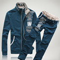 Европа и Соединенные Штаты Контракт Новый Зимний мужской Флис Костюм Моды Популярный Логотип Печать Leisure Suit Толстовки