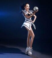 Dançarinos Roupas Dj Trajes Cantora Sexy Bodysuit Cantora Dança Roupas Modernas Roupas de Dança de Concerto