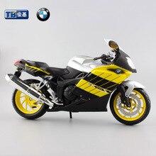 1:12 масштаб Детей moto прохладный K1200S литья под давлением мотоцикл сплав металла модели серво игрушки мотоциклы гоночный автомобиль подарок свободно для мальчиков