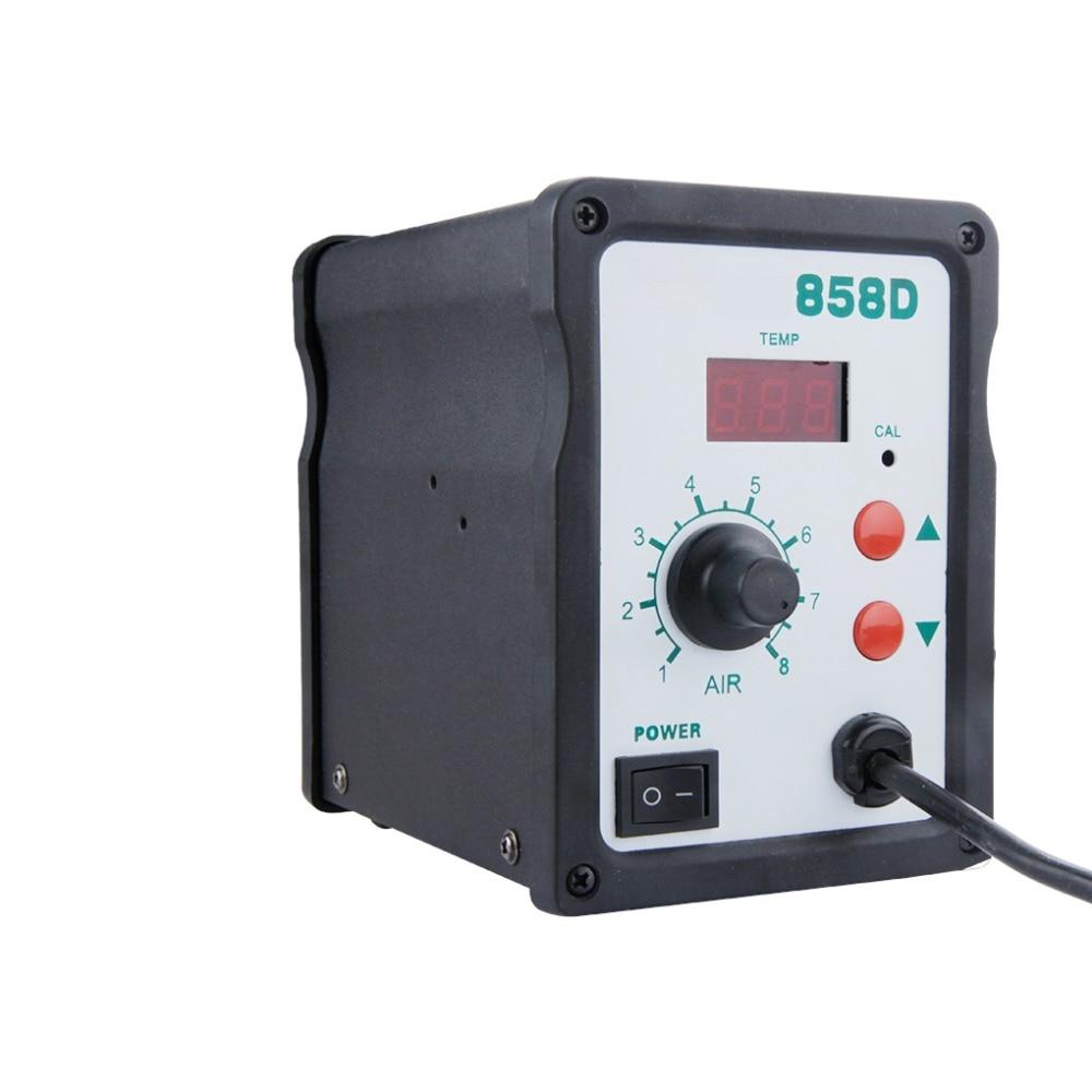 Professional High Quality Digital Air Desoldering Soldering Station High Accuracy 700W Hot Air Desoldering Tools EU/US Plug цена