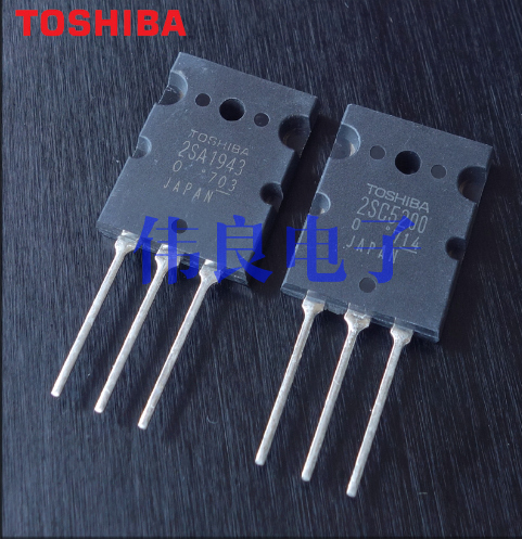 10 Pairs OF Toshiba Original 2SC5200 2SA1943 (optional Pairing)