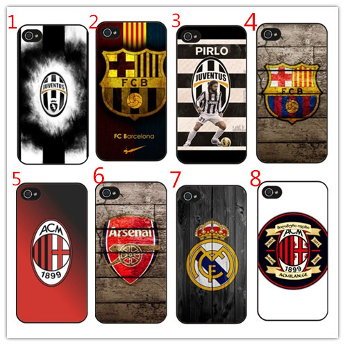 68683ea9436 AC M Arsenal Juventus Football Club Cover case for iPhone 6 6s 5 5s se 7