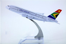 size 1:400 plane model B747  South African Airways aircraft B747 Metal simulation airplane model for kid toys Christmas gift