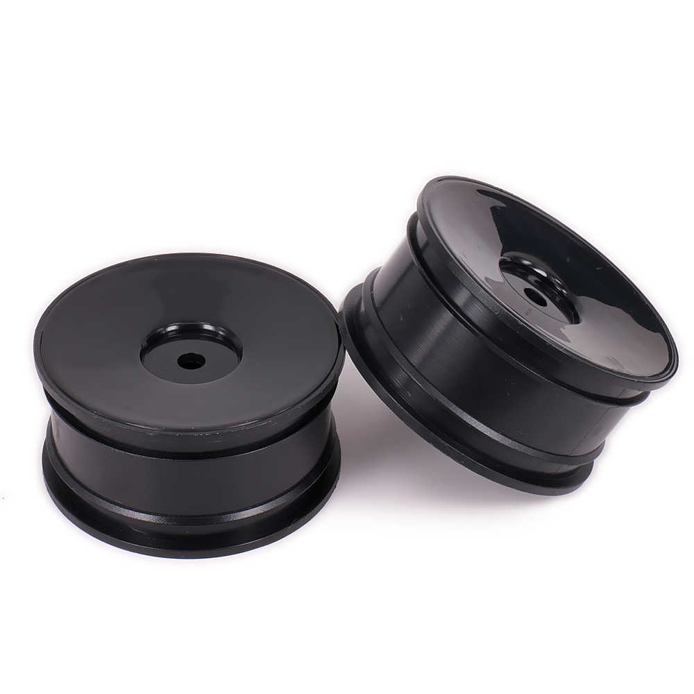 RCAWD Geen Spoke Velg Band Band Voor Rc Auto 1/10 On Road Racing Auto Crawler Drift Auto HSP Himoto HPI Redcat Plastic