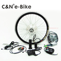 24v/36v/48v 250w hub motor electric bike kit ebike conversion kit with LED display