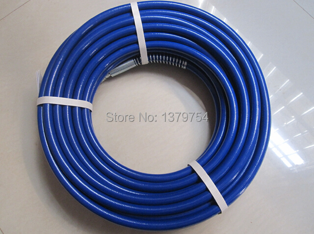 2017 Professional  quality 1X15m airless paint sprayer high pressure Steel pipe hose for GR Titan Wanger paint sprayer machine recommended intake pipe pressure reducer propane professional tools special filtration device e0873