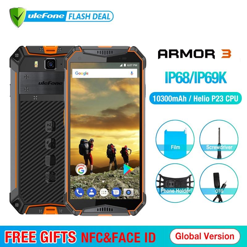 Ulefone Armatura 3 IP68 Impermeabile Del Telefono Mobile Android8.1 5.7