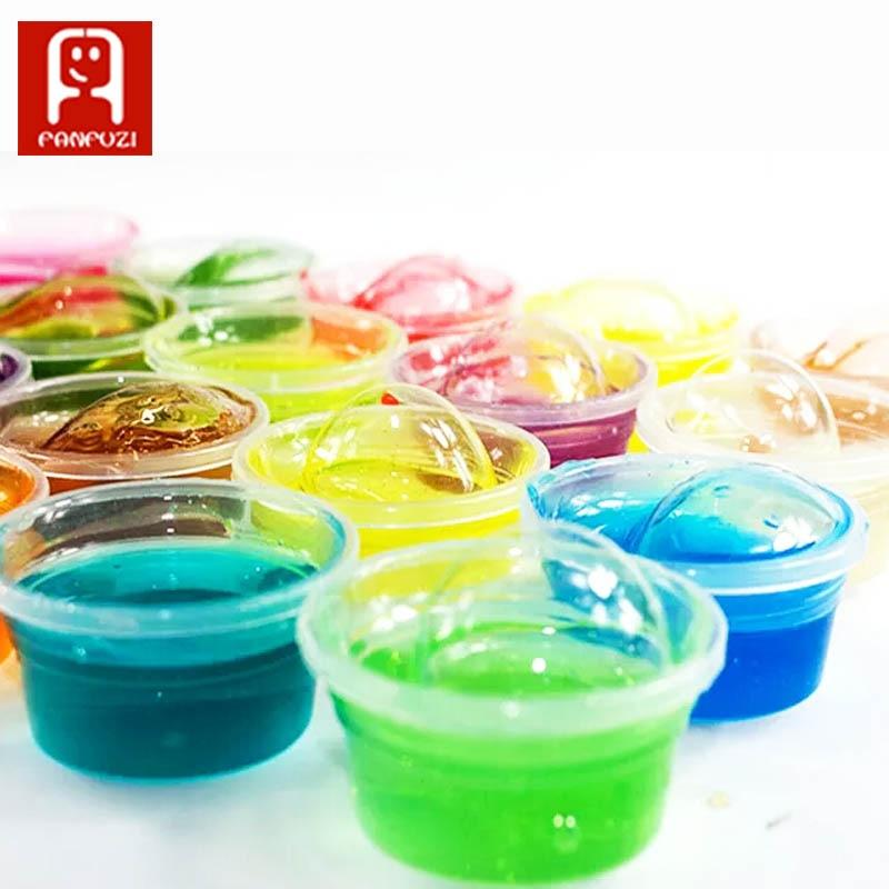 Non-toxice Blowing Bubbles Nămol de cristal Super-lumină Clay Draw - Învățare și educație