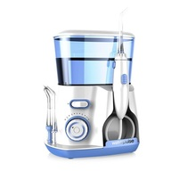 Dental Water Flosser Jet – Oral Irrigator with 5 Tip & 800 water tank dental hygiene for removal of plaque and debris