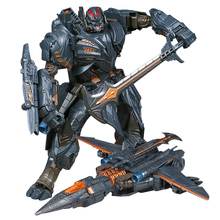 WEI JIANG Newest Anime Transformation Toys Movie 5 Series Cool Action Figure Robot Car Plastic ABS + Alloy Model Child Boy Toy weijiang model tf wei jiang transformation robot metal optimus alloy