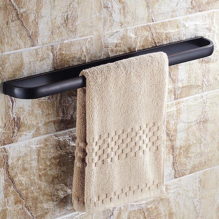 2015 new arrival oil rubbed bronze copper  Wall-Mounted  Towel Holders single Towel Bars Towel Racks Bathroom Accessories flg new modern accessories european style oil rubbed bronze copper toothbrush tumbler