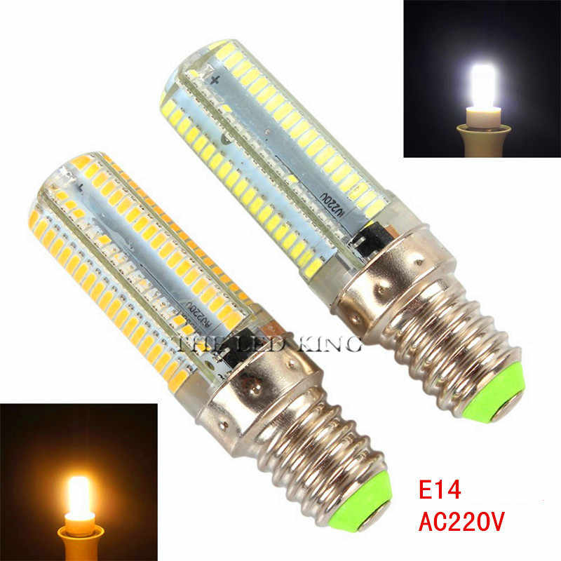 Led Light G9 G4 Led Bulb E11 E14 E17 B15 Dimmable Lamps 110V 220V Spotlight Bulbs 3014 SMD 24 48 64 104 152 Leds Sillcone Body