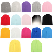 Unisex Infant Soft Hæklet Nyfødt Baby Boy Girl Hat Bomuld Beanie Varm Cap Candy Color