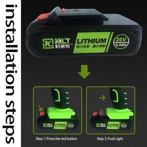 Image 2 - Batería de repuesto para herramienta eléctrica, 26V, 3000mAh, llave eléctrica, pistola de remache eléctrica, destornillador eléctrico/taladro, martillo eléctrico