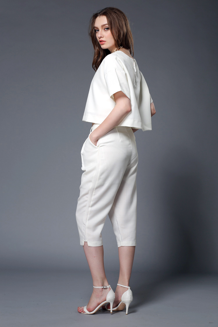 White Pant Suit Womens | My Dress Tip