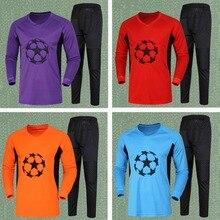 Tracksuit Goalkeeper Soccer Men Sponge Football-Training-Uniforms Protective-Sportsuit