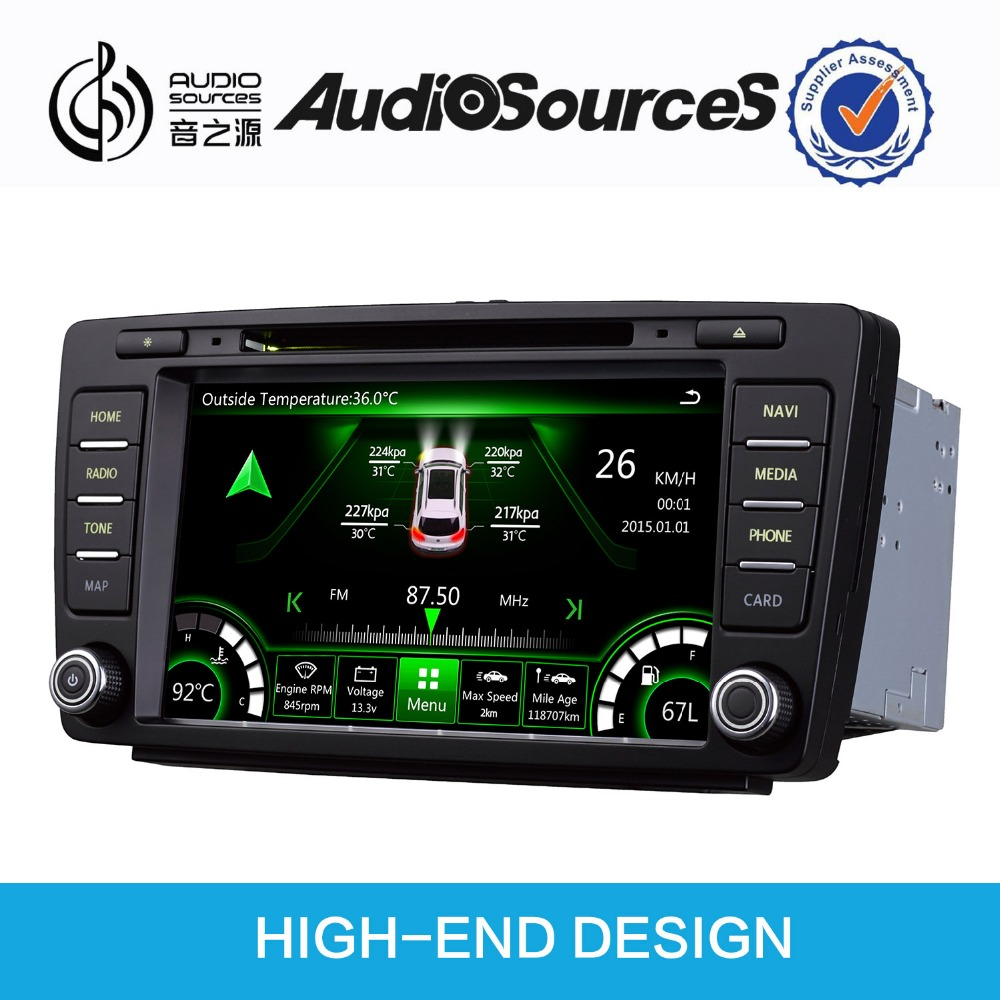 Aliexpress com buy audiosources octavia yeti car stereo 8inch car dvd player with ipas ops ds811 from reliable car dvd player suppliers on dzsj car
